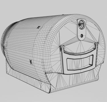 3D Image design mock up